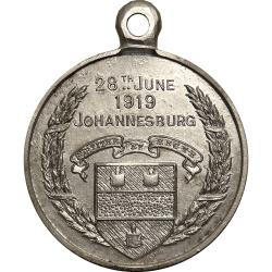 SA Union: First World War Peace: Johannesburg (Pattern)