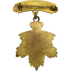 Canada: Boer War: Absent Minded Beggars in South Africa Pendant