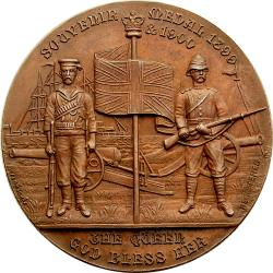 Great Britain: Boer War: United in the Cause of Freedom / Souvenir Medal