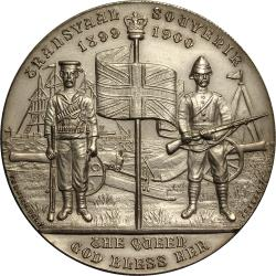 Great Britain: Boer War: United in the Cause of Freedom / Transvaal Souvenir (38mm)