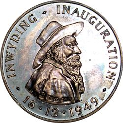 SA Union: Inauguration of Voortrekker Monument, Male Obverse