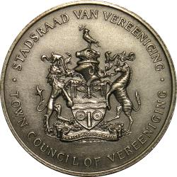 SA Union: 50th Anniversary of Union of South Africa: Vereeniging