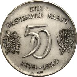 RSA (Pre-1994): National Party Golden Jubilee