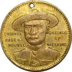 Australia: Boer War: Colonel Baden-Powell Relief of Mafeking (215 Days)