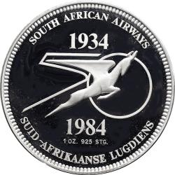 RSA (Pre-1994): South African Airways 50th Anniversary