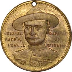 Australia: Boer War: Field-Marshal Lord Roberts / Colonel Baden-Powell