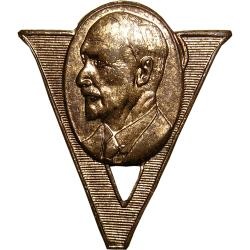 "SA Union: Jan Smuts: ""V"" for Victory over Germany"