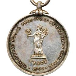 Cape Colony: Boer War: Siege of Beaconsfield Children's Medal