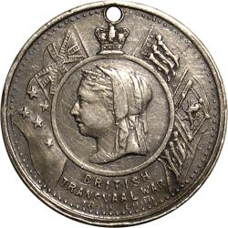 "Australia: Boer War: Queen Victoria / ""LEST WE FORGET"""