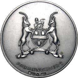 RSA (Pre-1994): City of Johannesburg 80th Anniversary, Tribute to Pioneers