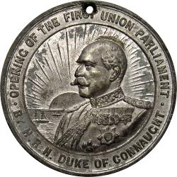 SA Union: Opening of the First Union Parliament by the Duke of Connaught
