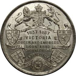 Great Britain: Queen Victoria Golden Jubilee / Royal Arms & Shields of Colonies