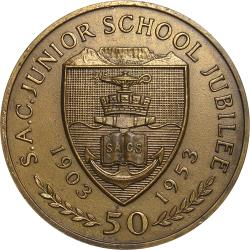 SA Union: South African College Junior School Golden Jubilee Award