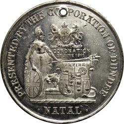 SA Union:: Coronation of King George V and Queen Mary /  Dundee, Natal