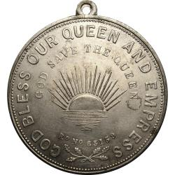 Great Britain: Queen Victoria Golden Jubilee, Symbols of Great Britain and the Colonies