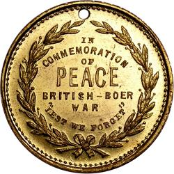 "Australia: Boer War: Lord Roberts / ""In Commemoration of Peace"""