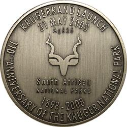 RSA (Post-1994): Kruger National Park 110th Anniversary: Krugerrand Launch