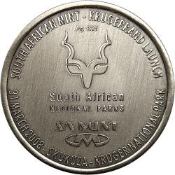 RSA (Post-1994): Kruger National Park 110th Anniversary: Krugerrand Launch to Dignitaries