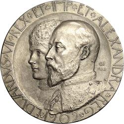 Great Britain: Coronation of King Edward VII and Queen Alexandra by Frampton