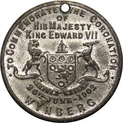 Cape Colony: Coronation of King Edward VII and Queen Alexandra: Wynberg