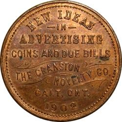 Canada: Boer War: Peace in South Africa, Dove: Advertising Token