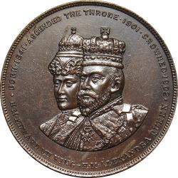 Great Britain: Coronation of King Edward VII and Queen Alexandra / Great Britain and Colonies across the Sea