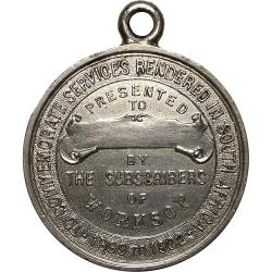 England: Boer War: Worksop Tribute Medal