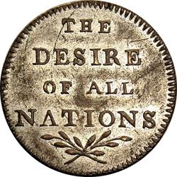 Great Britain: Treaty of Amiens Preliminaries: Peace & Plenty / The Desire of All Nations