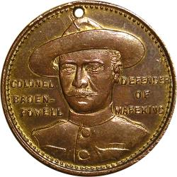Australia: Boer War: Colonel Baden-Powell / Warracknabeal