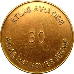 RSA (Post-1994): South African Air Force 75th Anniversary / Atlas Aviation