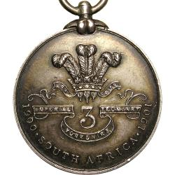 England: Boer War: Yorkshire  Imperial Yeomanry Tribute Medal