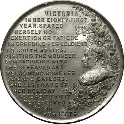 Great Britain: Boer War: Queen Victoria and Nottingham Central Station