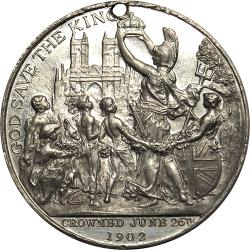 Great Britain: Coronation of King Edward VII and Queen Alexandra /  Children of the Colonies