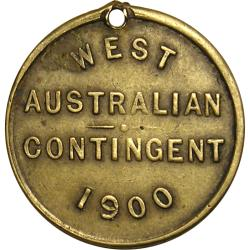 "Australia: Boer War: Queen Victoria ""for Queen & Country"" / ""West Australian Contingent"""