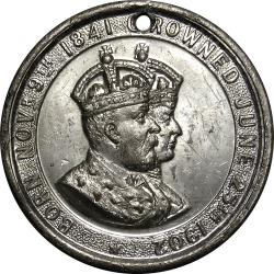Great Britain: Coronation of King Edward VII and Queen Alexandra / Shield of Empire