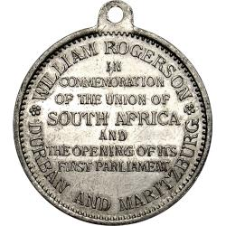 SA Union: Opening of First Parliament, King George V / Durban & Maritzburg