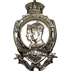 SA Union: King George VI and Queen Elizabeth Royal Visit Badge