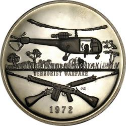 Rhodesia: Rhodesian History Medallion Volume 3: Armed Forces Terrorist Warfare