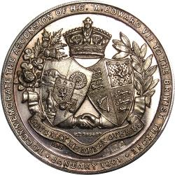 Great Britain: Ascension of King Edward VII / British and Empire Coat of Arms