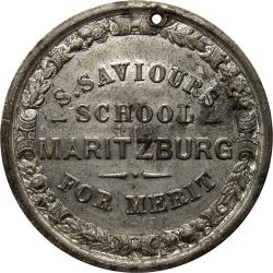 Colony of Natal: St. Saviour's School Pietermaritzburg Merit Award