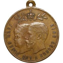 Germany: King George V & Queen Mary Coronation / British Shields, Names of Colonies