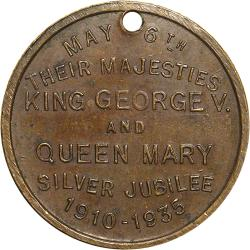 SA Union: King George V & Queen Mary Silver Jubilee