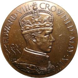 Great Britain: King Edward VIII Coronation / Seated Female, Names of Colonies