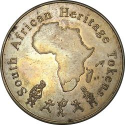 RSA (Pre-1994): South African Heritage Token / Natal Sharks Board