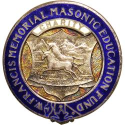 SA Union: Natal District Grand Lodge, Wesley Francis Memorial Education Fund Badge