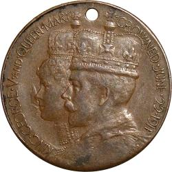 Great Britain: Coronation of King George V and Queen Mary / Africa on Globe