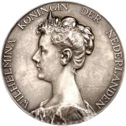 Netherlands: Coronation of Queen Wilhelmina