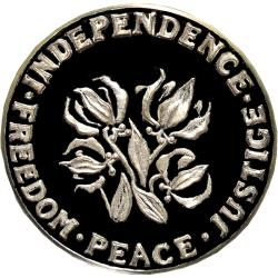Rhodesia: Independence, Ian Smith / Flame Lily