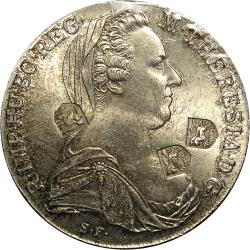 SA Union: Natal Numismatic Society Counterstamp/s on Maria Theresa Thaler