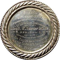 Great Britain: Boer War: Buxton Tribute Medal